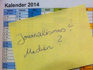 Was  bringt 2014 für den Journalismus